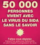 En France, environ 50 000 personnes sont porteuses du virus du sida sans le savoir