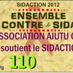 AIUTU CORSU soutient le SIDACTION 2012