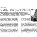 ARTICLE DE PRESSE : L'Informateur Corse
