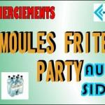 MOULES FRITES PARTY A MIDI SAMEDI 14 AVRIL AU PORT TINO ROSSI AU PROFIT DU SIDACTION