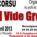 VIDE GRENIER 21 Avril 2013 - Aiutu Corsu