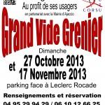 VIDE GRENIER 27 Octobre 2013 - AIUTU CORSU