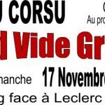VIDE GRENIER 17 Novembre 2013 - AIUTU CORSU