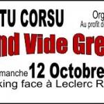 Vide Grenier 12 octobre - AIUTU CORSU