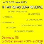 SIDACTION 27, 28, 29 mars 2015