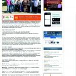 Dépistage en Corse du Sud - Article de Presse