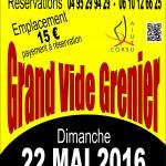 VIDE GRENIER 22 MAI 2016 - AIUTU CORSU