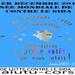 Actions autours du 1er Décembre : Journée Mondiale de Lutte Contre le Sida