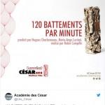 120 battements / minutes