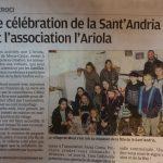 Association L'Ariola Mocca Croce